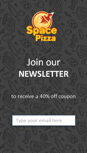 spacepizza joinnewsletter